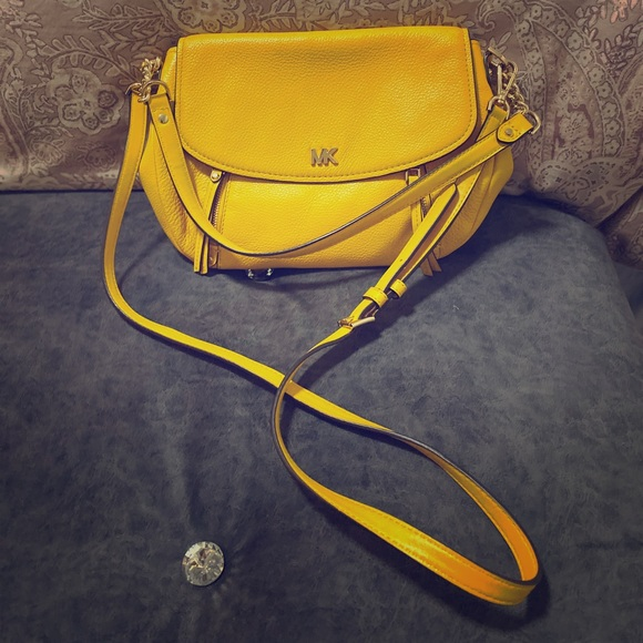 Michael Kors Handbags - Yellow Michael Kors Purse